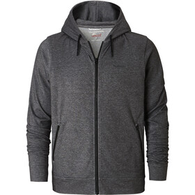 Craghoppers NosiLife Tilpa Hooded Jacket Herren black pepper marl